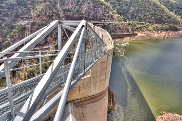 New Walkway Bridge Completed on the Burrunjuck Dam upgrade for State Water