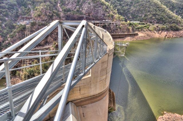 New Walkway Bridge Completed on the Burrunjuck Dam upgrade for State Water